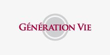 LogoGénération Vie dans gris
